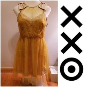 NWT Rodarte for Target XXO sleeveless slip dress
